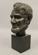 Estate Found 1956 Copyright MPI US President Abraham Lincoln Bust Sculpture