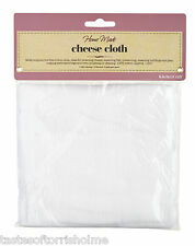 KITCHEN CRAFT NEW 100% COTTON WOVEN LINT FREE CHEESE CLOTH 1.8m