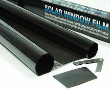 2 x ROLL 3m x 75cm MEDIUM SMOKE 25% CAR WINDOW TINT FILM TINTING