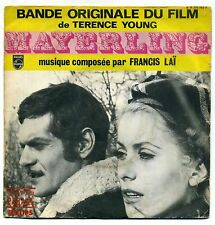 "B.O.F "" MAYERLING ""45 T SIMPLE PHILIPS 370752 - FRANCIS LAI"