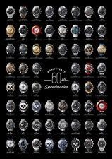 Omega Speedmaster 60th Anniversary Poster (BIG)