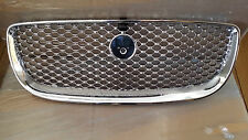 Brand NEW Genuine Jaguar XJ Front Grille with Camera hole 2015 on wards, chrome