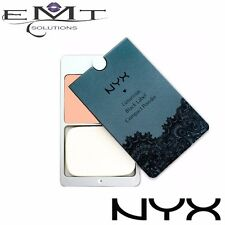 NYX Luxurious Black Label Compact Pressed Powder - Natural Beige 09 W Lace Pouch