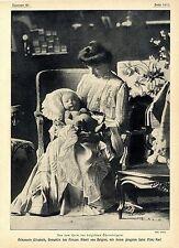Prinzessin Elisabeth Gemahlin des Prinzen Albert von Belgien...Bilddokument 1905