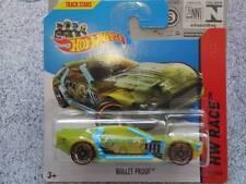 Hot Wheels 2014 #171/250 BULLET PROOF green HW RACE