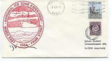 1984 Marginal Ice Zone Experiment Fram Strait Mizex Polar Antarctic Cover SIGNED