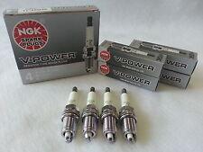 4-New NGK V-Power Copper Spark Plugs BKR4E #4421 Made in Japan