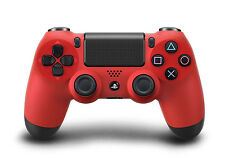 NEW SONY PS4 MAGMA RED PLAYSTATION 4 DUALSHOCK WIRELESS CONTROLLER BOXED