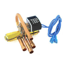 8mm 9.7mm Dia Tube 1P Power 4-Way Reversing Valve Solenoid for Air Conditioning