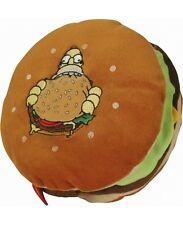 "THE SIMPSONS Plüsch Kissen ""3D-Kissen HAMBURGER"" braun 