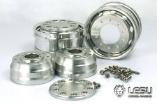 ALL TRACTOR TRAILER LESU ALUM FRONT SUPER RIM TAMIYA 1/14 W-2041-A  bearing 25MM