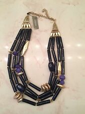 NEW - Chicos Chico's Hannah Multi-Stand Necklace - Free Shipping