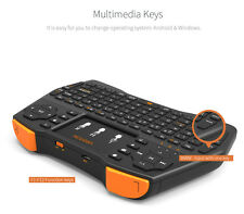 2.4G Mini Wireless Keyboard &Touchpad Mouse Multimedia Control For TV Box PC