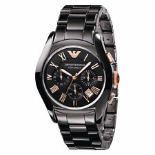 Imported Emporio Armani AR-1410 Ceramica-Dial-Chronograph Men's Watch
