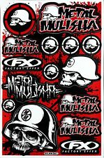 Metal Mulisha Rockstar Energy Sticker Bike MTB Motocross Vinyl Decal Graphic T23