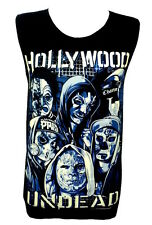HOLLYWOOD UNDEAD Rock Band Metal Music Unisex Tank Top Vest T-Shirt Size M