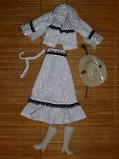 Cowgirl-Kleid für Barbie, Petra und ähnliche Puppen aus den 1970er Jahren