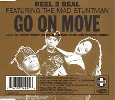 REEL 2 REAL ft THE MAD STUNTMAN - Go On Move (UK 7 Tk CD Single)
