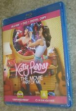 Katy Perry: Part of Me (Blu-ray/DVD, 2012, 2-Disc Set), NEW & SEALED, RATED PG