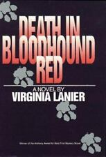 Death in Bloodhound Red by Virginia Lanier (1995, Hardcover)