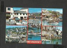 Vintage Colourmaster Multi View Postcard  Mevagissey Cornwall unposted