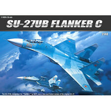 Academy 12271 SU-27UB FLANKER C 1/48 Plastic Hobby Model Kits Aircraft Toy New
