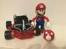 Mario Kart 64 juego de video superestrellas Super Mario Figura (Toy Biz, 1999) Nintendo