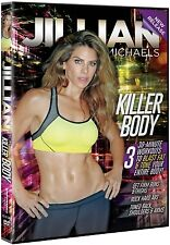 Jillian Michaels: Killer Body [DVD, Region 1, 30-Minute Workout] Brand NEW