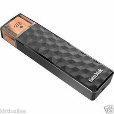32 GB SanDisk Connect Wireless Stick 32GB Pen Drive.| Metal & Copper finish