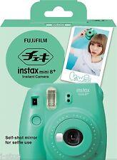 New Selfie Edition + Mint Fuji Instax Mini 8 Plus Fujifilm Instant Mini Camera