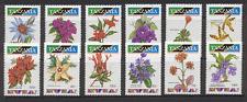 Tanzania 1993 fiori/Orchidee/piante 12v Set (s2353)
