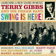 Terry Gibbs: LAUNCHING A NEW SOUND IN MUSIC + SWING IS HERE (2 LPS ON 1 CD)