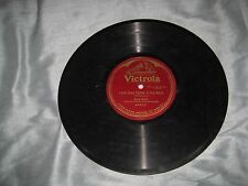 """S/S 78 RPM Victrola Record 64412-Alma Gluck-""""Little Grey Home In The West""""-1914"""