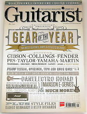 GUITARIST MAGAZINE January 2013 Gear of the Year Gibson Collins Fender PRS BOSS