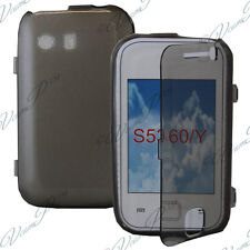 Case Cover Walet Flap Book GREY Samsung Galaxy Y Neo GT-S5360/ S5369i