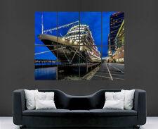 Crucero cartel en Puerto Barco Mar Gigante Grande De Pared Arte Cartel imagen grande