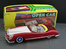 schönes altes Blechauto Friction Drive Lucky Open Car MF 787