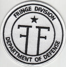 Ecusson Fringe department of defense division univers parallele new Fringe patch
