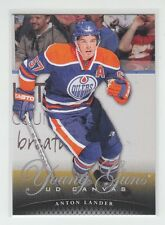 (64018) 2011-12 UPPER DECK CANVAS YOUNG GUNS ANTON LANDER #C99