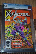 Marvel Comics X-Factor #2 First Appearance of Tower  CGC 9.8 White Pages