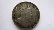 Hong Kong 50 Cents 1904 lovely grade