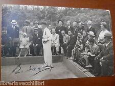 Vecchia foto d epoca fotografia antica FIUGGI FONTE NUOVA BOCCE 1936 partita di