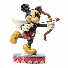 Disney Traditions Love Is In The Air Cupid Mickey Mouse Figurine 17.5cm 4037518