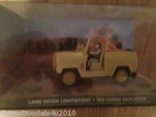JAMES BOND COLLECTION - LAND ROVER LIGHTWEIGHT - THE LIVING DAYLIGHTS