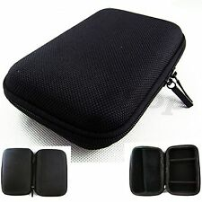 "New 5 inch Black Hard Case Pouch Bag For 5"" GPS Cobra 5550 Garmin nuvi 2450 MP5"