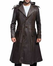 Jacob Frye's Brown Trench Leather Coat from Assassins Creed Syndicate