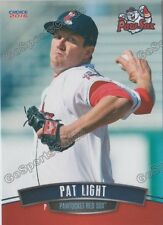 2016 Pawtucket Red Sox Pat Light RC Rookie Boston