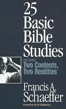 Francis Schaeffer - 25 Bible Studies (1996) - Used - Trade Paper (Paperback