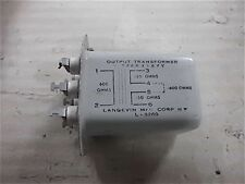 Langevin Opt Transformer 600 to 150 Split 600 Ohm