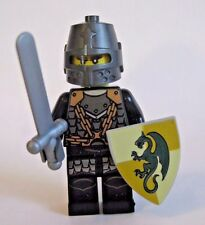 Lego DRAGON KNIGHT Minifigure Kingdoms Castle W/ Sword Shield 6918 7950